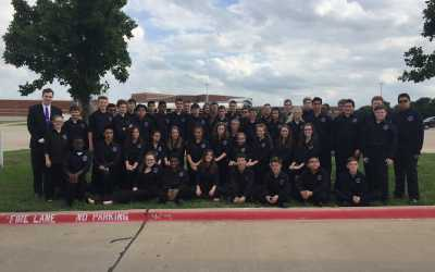 Congratulations to the band for outstanding performances at UIL Evaluation