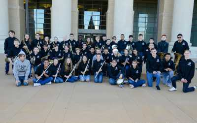 Cain Honors Band Travels Across Rockwall for a Holiday Tour