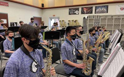Jazz Band Receives High Praise at Virtual TCU Jazz Festival